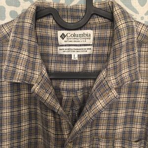 Columbia Long sleeve flannel